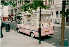 I miss the days of chasing an ice cream truck!