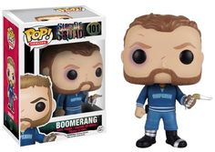 Boomerang Suicide Squad Pop! Vinyl Figure  --Be your own Whyld Girl with a wicked tee today! http://whyldgirl.com/tshirts
