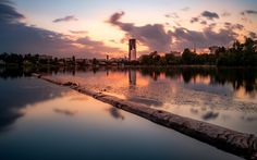 Urban Landscape by Mario Ciperle on Urban Landscape, Mario, River, Celestial, Sunset, Outdoor, Outdoors, Sunsets, Outdoor Games