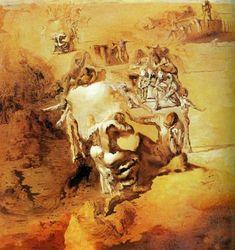 The Great Paranoiac, 1936, Salvador Dali