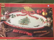 SPODE Christmas Tree Nutcracker Peppermint Platter