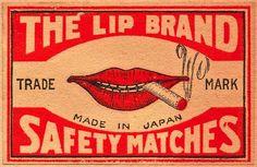 Lip Brand matchbox