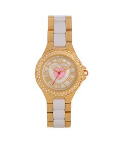 betsey gold watch
