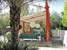 parker palm springs poolside.