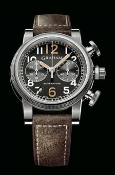 GRAHAM Silverstone Vintage 44 - The Watch Lounge http://thewatchlounge.com/graham-silverstone-vintage-44-racer/