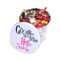 Bin the Guilt with this funny Snack Storage Tin