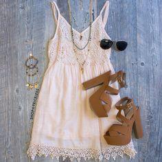 It's Always You Dress - Peach