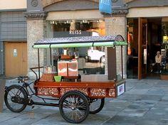 Espresso cargo bike
