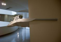 Exhibition design by Situ Studio at Guggenheim for Frank Lloyd Wright: From Within Outward