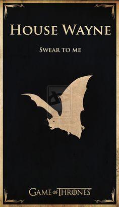 Game of Thrones - House Wayne