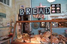 Back in the Day Bakery Savannah GA ( I love that you can see our artwork hanging here!) So fun!