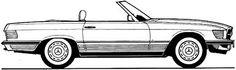 Image result for mercedes benz r107