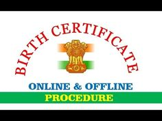 Learn the complete procedure to get date of birth certificate in india online and offline via municipality , panchayat , hospital , is it free for 21 days of. India Online, Computer Internet, How To Apply, How To Get, Birth Certificate, Video Tutorials, Tech, Letters, Learning