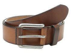 Johnston & Murphy Straight Edge Casual Belt
