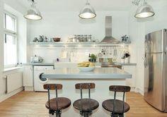 cozinhas retro moderna - Pesquisa Google