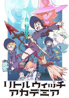 "animeslovenija: "" New Little Witch Academia TV anime key visual and PV: """