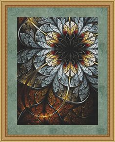 Counted Cross Stitch Pattern Dreamcatcher by StitchXCrossStitch, $2.95 | A fractal cross stitch pattern! How awesome is that?