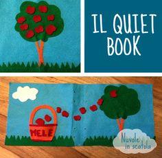 E voi, li conoscete i quiet book? Questo è il mio tutorial (con pdf stampabile).