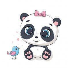 Cute Panda Cartoon, Cute Cartoon Animals, Baby Cartoon, Cute Baby Animals, Wild Animals, Baby Sheep, Cute Sheep, Cute Pigs, Panda Wallpapers