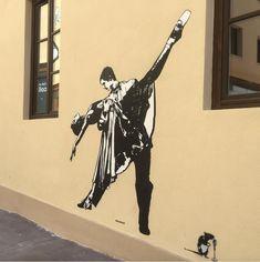 "Blek le Rat, ""The last Tango in Florence"", Italy, 2018 Blek Le Rat, Last Tango, Florence Italy, Rats, Graffiti, Decor, Decoration, Decorating, Graffiti Artwork"