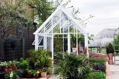 A Victorian Classic glasshouse by Hartley Botanic, situated in Kew Gardens, London, UK. #Greenhouse #Greenhouses #Glasshouse #Glasshouses #Garden #Gardens #Gardening #GardenChat #HartleyBotanic #KewGardens #London