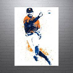 Jose Altuve Houston Astros Poster