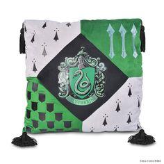 Slytherin Crest™ Pillow | Slytherin™ | Warner Bros Studio Tour London