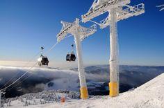 Lyžiarske stredisko PARK SNOW Donovaly -nachádza sa na rozhraní národných parkov Nízke Tatry a Veľká Fatra