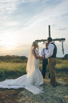 Emotional + Heartfelt Wedding Filled with Love: http://www.stylemepretty.com/2015/11/03/emotional-heartfelt-wedding-filled-with-love/ | Photography: Brady Angel - http://www.brandyangelphotography.com/
