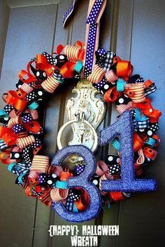 Ribbon wreath - How To...