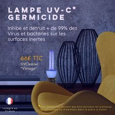 Lampe Uv, France, Cleaning, Boutique, Technology, Fishing Line, French