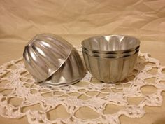 Vintage Mold Aluminum Molds by TheCookieClutch on Etsy, $22.00