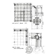"""plan and details: """"The drawing is the fundamental communicative tool of the discipline – be it plan, section, elevation, reflected ceiling plan, or axonometric. As architects, we draw."""""""