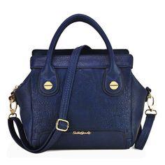Sally Young Patchwork Georgia Winged Handheld Bag - Blue Blue Bags, Balenciaga City Bag, Michael Kors Hamilton, Sally, Latest Fashion, Georgia, Wings, Shoulder Bag, Handbags