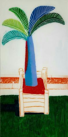 Tribute to David Hockney