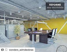 #Repost @wonders_admdeobras (@get_repost)  Trabalhar em um ambiente confortável alegra inspira e aumenta a produtividade dos funcionários. Quanto mais clean for o ambiente maior será a sensação de agradabilidade. Invista em um projeto com cores claras móveis confortáveis e iluminação natural. #wonders #wondersadm #wondersobras #arquiteto #arquitetura #engenharia #obras #apartamentos #casas #escritorios #loft #studio #decoracao #ambientes #organizacao #limpeza #agilidade #qualidade…