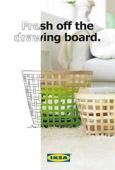 写真とデッサンが融合したIKEAの広告 | AdGang