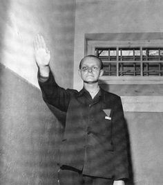 The Banality of Evil: Klaus Hornig, a Buchenwald kapo, photographed by Lee Miller (April 1945)