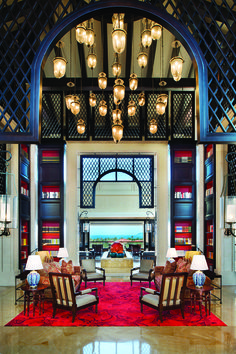 Lobby. The Royal Begonia, a Luxury Collection Resort, Sanya.