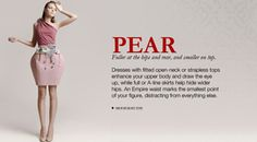Check out clothing for pear-shaped body types over here! http://en-ae.namshi.com/pear-shape-dresses/