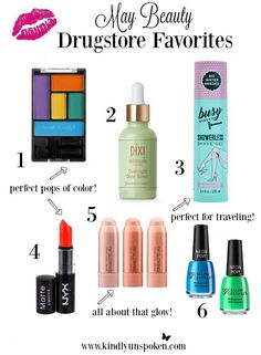 May Drugstore Beauty Favorites Pixi Skintreats, Flavored Lip Gloss, Shave Gel, Makeup To Buy, Makeup Obsession, Drugstore Makeup, All Things Beauty, Liquid Lipstick, Best Makeup Products