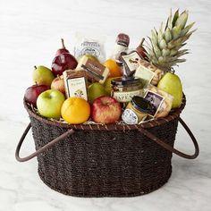 Ultimate Fruit Gift Basket #williamssonoma