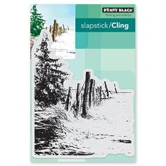 Penny Black Cling Stamp TRANQUIL 40-502 Preview Image