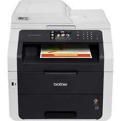 Brother Wireless All-In-One Color Printer with Scanner, Copier and Fax (MFC9330CDW), Amazon Dash Replenishment Enabled