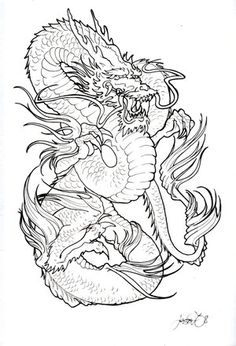 Japanese Tattoo Ideas With Japanese Dragon Tattoo Designs Gallery 1
