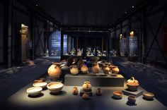 Fibula Museum Showcase - Adana Archaeology Museum / Turkey