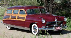 1950 ford custom station wagon | 1948 Hudson Commodore woodie. Photos by Brandon Harper, courtesy RM ...
