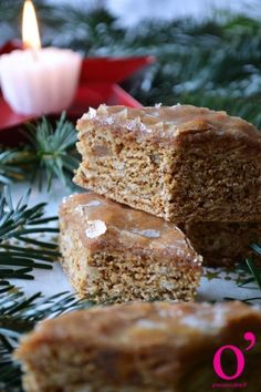 Leckerlis Recipe: Small Pavers of Gingerbread Glazed With Kirsch and Au . Apple Tea Cake, Cinnamon Tea Cake, Lemon Tea Cake, Russian Tea Cookies, Russian Tea Cake, Homemade Tea, Homemade Cakes, Best Rice Recipe, Chocolate Tea Cake