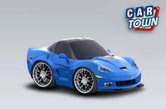 De regreso por un tiempo limitado exclusivamente en la sala de exposición de Top Gear: El ZR1 Corvette de Chevy! Ver un clip del show del rendimiento muscular estadounidense y, a continuación, agregarlo a su garaje de Car Town mientras puede. Este puede ser el coche que necesita para completar su colección de clásicos instantáneos!