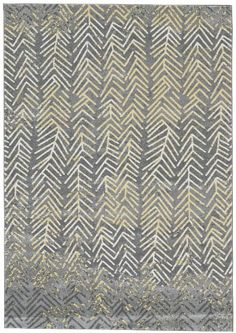 TOP PICK By Beth Dotolo + Carolina V Gentry - http://pulpdesignstudios.com - Feizy Rugs - Bleecker Collection in Granite/ 3604F - The Bleecker Collection incorporates stunning watercolor effects, a bold palette and contemporary patterns to create a grouping of uncommon beauty. Various, subtle hues of gray are punctuated with cotton white and sunny yellow. Showroom: 145 Market Square, 305 W. High Street #hpmkt